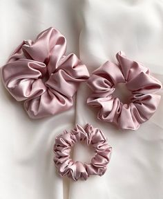 Hair Tie Flower Girl Proposal Gift Box Light Pink Satin Scrunchie To Have /& To Hold Your Hair Back Rose Gold Card Bridal Party Wedding