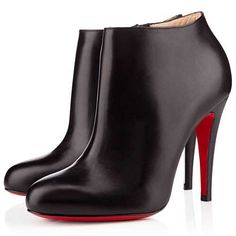 womens fashion clothing.Christian Louboutin Belle 100mm Ankle Boots Black..comfortable. ..relaxed..When we travel?