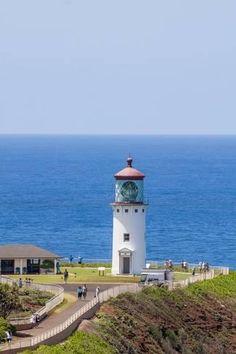 Photographic Print: Historic Kilauea Lighthouse on Kilauea Point National Wildlife Refuge by Michael DeFreitas : 24x16in