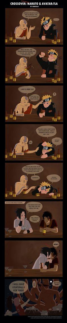 When heroes get drunk