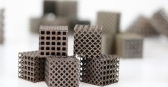 Lattice created by the LIGHT consortium to lower weight of 3D printed metal designs. From: Metal Designs – (Additive) Manufacturing Challenges and Solutions