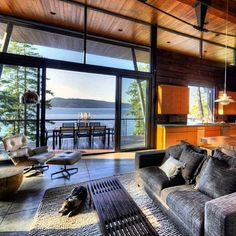 @rc_coppola We love the way you dream. What a view! #DreamHome #kitchen #livingroom
