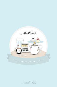 Smartphone wallpaper Miss Étoile #missetoile #cute