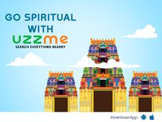 Are you a Spiritual person? Habituated to visit temple everyday but, new to location? Don't worry Just tap on Uzzme and find all the temples near your locality. Search Everything, Don't Worry, Temples, No Worries, Spirituality, Temple, Spiritual