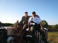 FL Pig Hunt - May   - Father and son pic