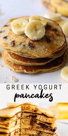 Healthy Sweets, Healthy Snacks, Healthy Recipes, Keto Recipes, Breakfast Muffins, Breakfast Smoothies, Healthy Baking, Healthy Pancake Recipe, Healthy Drinks