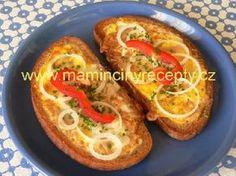 Topinky Arnošta z Pardubic Slovak Recipes, Czech Recipes, Ethnic Recipes, Sweet Desserts, Bread Baking, Main Meals, Sandwiches, Toast, Brunch