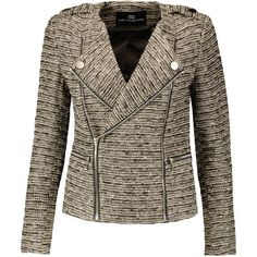 Tart Collections Amber metallic bouclé-tweed jacket (445 ILS) ❤ liked on Polyvore featuring outerwear, jackets, multi, boucle jacket, colorful jackets, metallic tweed jacket, slim fit jackets and tweed boucle jacket