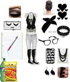 """School Outfit 11"" by kenyapeters ❤ liked on Polyvore"