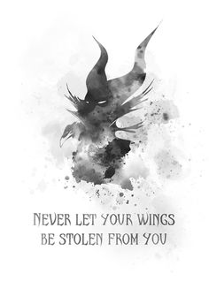 Maleficent Quotes, Maleficent Art, Malificent Tattoo, Sleeping Beauty Tattoo, Disney Phone Wallpaper, Character Quotes, Contemporary Artwork, Disney Quotes, Disney Villains