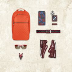 Louis Vuitton offers an array of stylish accessories for every man. The Men's Accessories Profile makes finding the perfect accessory easy.