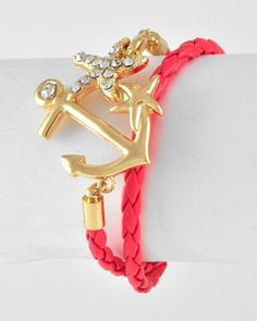 anchor Jewelry - Gemz By The Sea, wouldbe cool in green or turquoise