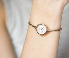 Women's quartz watch Ray gold plated women's watch by SovietEra