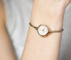Women's quartz watch Ray gold plated women's watch by SovietEra
