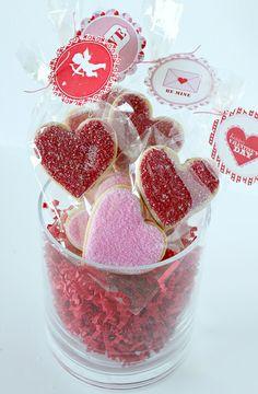 Valentine Vanilla Sugar Cookies~ Repinned by Federal Financial Group LLC