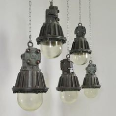 Industrial, love these - http://reclaimedarchitecture.com/
