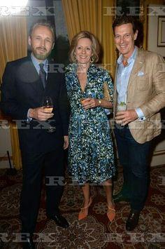 WWD Duke of Wellington Hunter, Apsley House, London, Britain - 15 Jun 2015  Alasdhair Willis, Julia Ogilvy and James Ogilvy  15 Jun 2015
