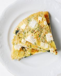 Fritatta z ziemniakami, szpinakiem i serem feta >> Aioli, Quesadillas, Tahini, Empanadas, Quiche, Feta, Risotto, Spinach, Potatoes