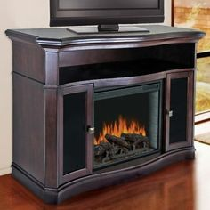 Media Fireplace On Pinterest Electric Fireplaces Media Consoles And Media Center