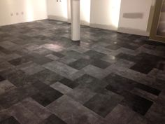 patchwork leather flooring - Leather Floor Tile