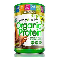Purely Inspired® Organic Protein Powder - Fitness Equipment, Health Supplements at Academy Sports Protein Energy, High Protein Low Carb, Plant Protein, Vegan Protein, Organic Protein Powder, Plant Based Protein Powder, Diabetic Protein Shakes, Best Juicer, Nutrition Shakes