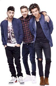 Harry Styles, Zayn, Liam