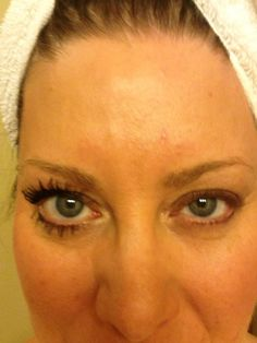 This is ME! Not photo shopped!  My left eye has nothing.  My right eye is one, light coat of my mascara and only ONE coat of the Younique Moodstruck 3D lashes!  Im in LOVE! www.youniqueproducts.com/HaleyRagsdale