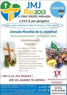 JMJ 2013 desde Malaga