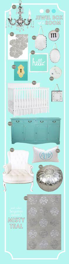 Lay Baby Lay: a jewel box of a room