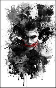 150 Joker - Batman The Dark Knight Movie Poster Le Joker Batman, Batman Joker Wallpaper, Der Joker, Joker Iphone Wallpaper, Heath Ledger Joker, Joker Wallpapers, Joker Art, Joker And Harley, Dark Wallpaper