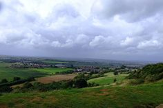 View from Ham Hill, Somerset