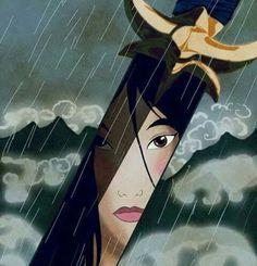 Day Bravest Princess: I'd have to say Mulan.) In honor of Mulan's anniversary // Movie Friday: 15 Artist Recreations of Disney's Mulan Disney Magic, Walt Disney, Disney Dream, Disney Pixar, Disney Amor, Disney E Dreamworks, Disney Girls, Disney Movies, Disney Characters
