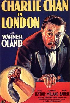Charlie Chan in London (1934) - Charlie visits a wealthy country home in England. Suspects in the murder range from a housekeeper to a stableman to a lawyer.