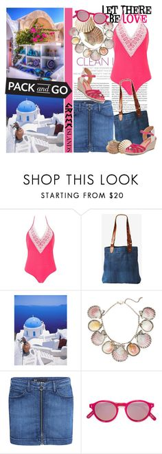 """""""Let there be love...."""" by tinuviela ❤ liked on Polyvore featuring Elle, Love Quotes Scarves, Toast, Paolo Costagli, 3x1, Philippe Rouge, Lucky Brand, Packandgo and greekislands"""
