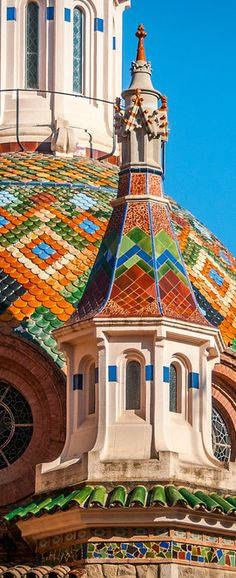 The Dome of Sant Roma in Lloret de Mar, Catalonia
