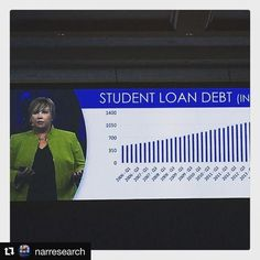 "#Repost @narresearch  NAR's Jessica Lautz presents on the impact of student loan debt in homeownership at the NAR Leadership Summit. 55% of student loan debt bearers are paying loans back. 71% of non-homeowners say student loan debt has delayed the purchase of a home."" Follow #NARLeadershipSummit on Twitter for more updates and live Tweets!  #realtor #realtorproblems #sold #realestate #hgtv #openhouse #closing #home #realty #hardwork #inspiration #business #homes #realestateagent #homeowner…"
