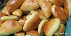 Τυροπιτάκια της γιαγιάς Χριστίνας - Τόσο νόστιμα… που δεν σταματάς - Έμβολος Pretzel Bites, Food And Drink, Potatoes, Bread, Vegetables, Easy, Recipes, Potato, Brot