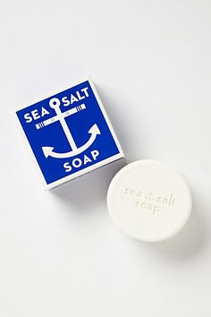Swedish Sea Salt Soap. My husband's FAV. #AnthroFave