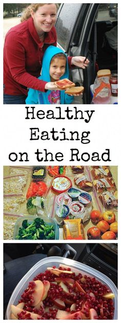 Healthy Food for Road Trips: Eating on the Road with Kids #StudentSurvivalKits