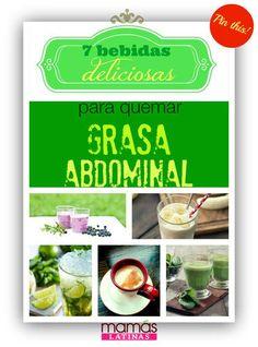 7 Batidos y otras bebidas IDEALES para quemar grasa abdominal (RECETAS) | ¿Qué Más?