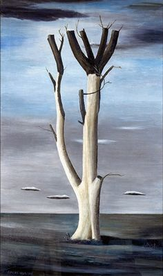 Gertrude Abercrombie - Tree at Aledo, 1938