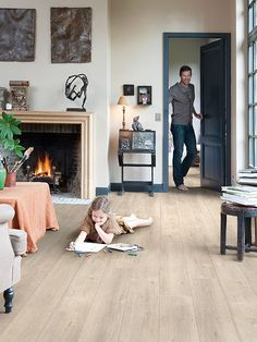 Rev tements de sol stratifi s quick step impressive planchers pour pi ces h - Stratifie quick step ...