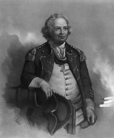 "Israel Putnam (1718-1790), nicknamed ""Old Put"", was a major general in the American Army during the Revolutionary War.  He fought with distinction at the Battle of Bunker Hill.  His reckless courage and fighting spirit were known far and wide through the circulation of folk legends celebrating his exploits.  He had notable service with Rogers's Rangers during the French and Indian War, when he was captured but saved from ritual burning by Mohawks through intervention of a French officer."