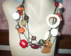 Check out our chicos necklace selection for the very best in unique or custom, handmade pieces from our necklaces shops. Washer Necklace, Handmade, Popular, Etsy, Jewelry, Hand Made, Jewlery, Jewerly, Schmuck