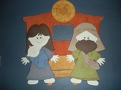 Nativity Doll: Mary, Baby Jesus, and Joseph Cricut Dolls