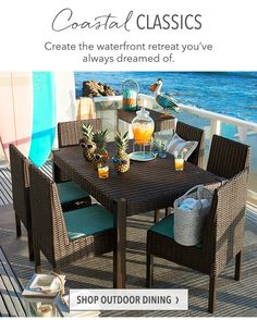 Outdoor Experience At Pier Imports Pier Imports Pinterest - Pier 1 outdoor dining table