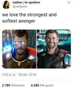 """Thor Ragnarok be like:""""strongest avenger""""""""access denied"""". Infinity War be like:""""strongest avenger""""""""welcome, strongest avenger."""""""