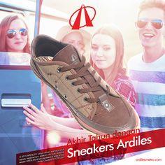 Ardiles Sneakers Lovers, momen akhir tahun biasanya dimanfaatkan oleh anak muda untuk berlibur bersama teman-teman. Setiap orang memiliki tempat favorit tersendiri. Jika kamu mencari fashion item yang cocok untuk semua tempat liburan pasti sneakers jawabannya. Faktor kenyamanan yang menjadi unggulan sneakers sudah terbukti diakui oleh semua kalangan. Ardiles mempersembahkan sneakers dengan beragam desain keren. #ARDILESsneakers #sepatuARDILES #ARDILES #indonesia #surabaya #jakarta