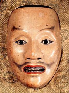 Noh Mask - Tenjin (Shiro Tenjin)