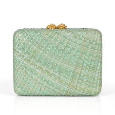 #alewalsh #clutch  Ale Walsh - Hand woven water Lily clutch bag with flower closure plated in 24ct gold and a drop-in gold chain. Buy online at www.alewalsh.com Clutch Bag, Tote Bag, Red Coral, Summer Collection, Gold Chains, Philippines, Lust, Belts, Ale